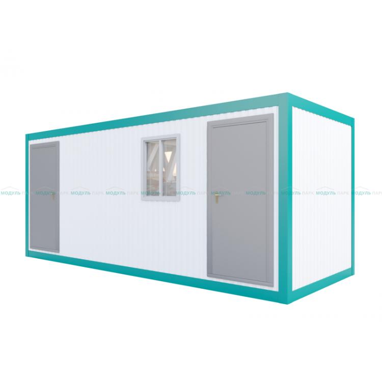 Модуль с душевыми и туалетными кабинками
