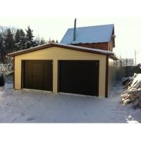 Теплый гараж двухместный