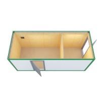 Аренда Блок контейнер-склад (ДВП, с 2 отдельными входами)