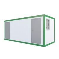 Аренда сантехнического блока с душевыми и туалетными кабинками 1