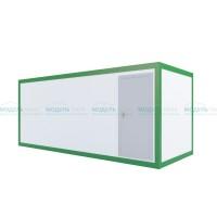 Блок-контейнер дачный вагонка хвоя