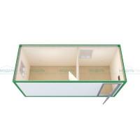 Жилой блок-контейнер с кухней