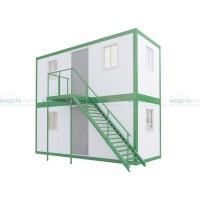 Модульный офис из 2 блок-контейнеров