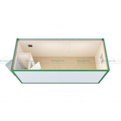 Блок-контейнер для зимнего проживания