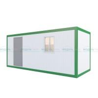 Блок-офис ПВХ Эконом с электрикой