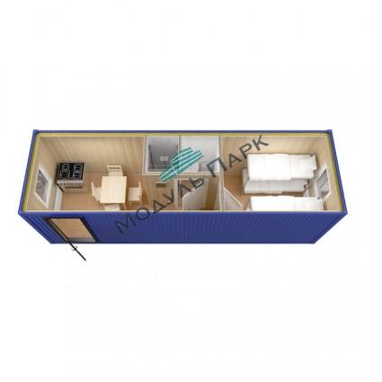 Блок контейнер сварной №1