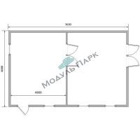 Коммерческое модульное здание №2