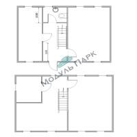 Модульное здание для дачный дом №3