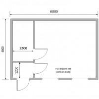 Каркасные модульные здания №2