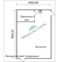 Модульное здание - пекарня №1