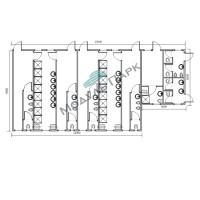 Модульное здание для спорта №4