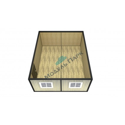 Модульное здание из двух блок-контейнеров