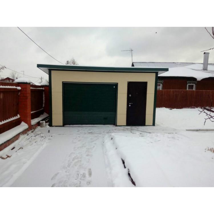 Теплый гараж одноместный