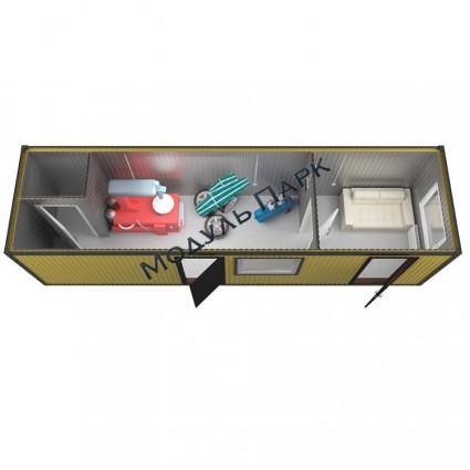 Блок контейнер промышленный №2