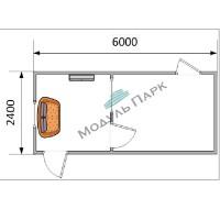 Блок контейнер промышленный №3