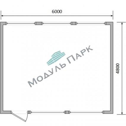 Модульное здание для бизнеса №4