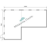 Коммерческое модульное здание №4