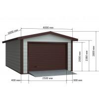 Купить металлический гараж цена