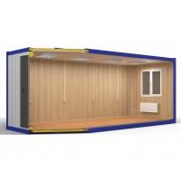 Блок контейнер №1 из сэндвич панелей 16 футов